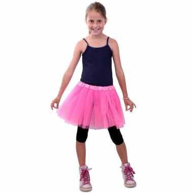 Goedkoop ballet tule rokje roze meisjes carnavalskleding