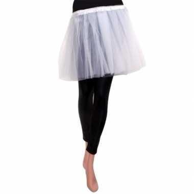 Goedkoop ballet tule rokje wit meisjes carnavalskleding