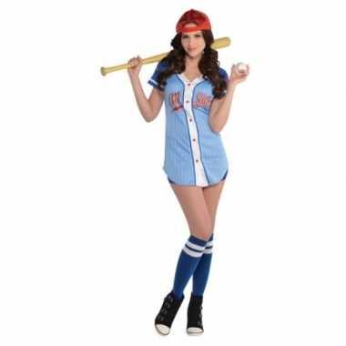 Goedkoop baseball carnavalskleding dames