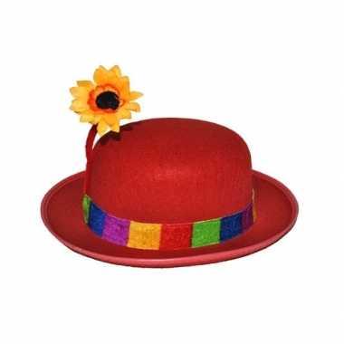 Goedkoop bassie clowns hoed carnavalskleding