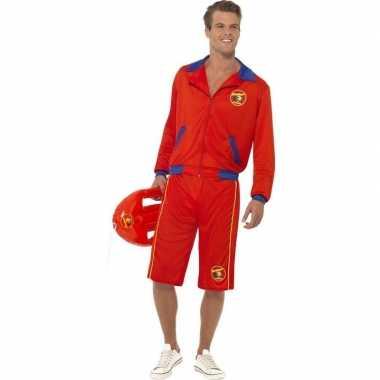 Goedkoop baywatch verkleed carnavalskleding heren