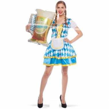 Goedkoop biermeisjes jurk beiers design carnavalskleding