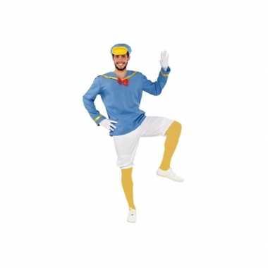 Goedkoop blauw eendje carnavalskleding heren