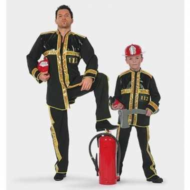 Goedkoop brandweer carnavalskleding kind