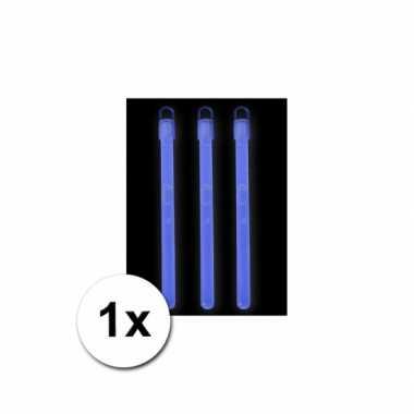 Goedkoop  Breek lichtje neon blauw carnavalskleding