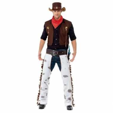 Goedkoop budget cowboy carnavalskleding heren