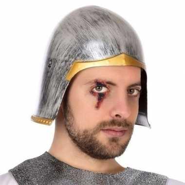 Goedkoop carnaval accessoire ridder helm heren carnavalskleding