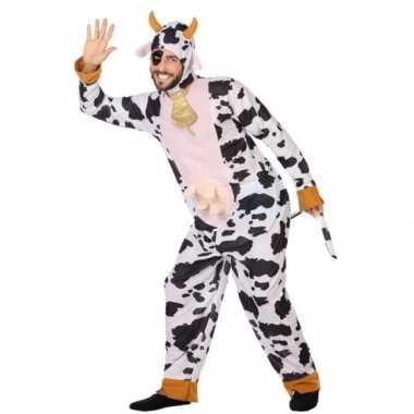 Goedkoop carnaval dieren carnavalskleding koe volwassenen