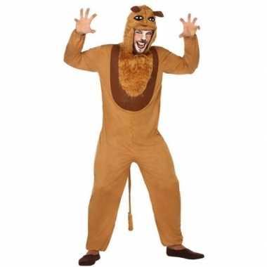 Goedkoop carnaval dieren carnavalskleding leeuw volwassenen