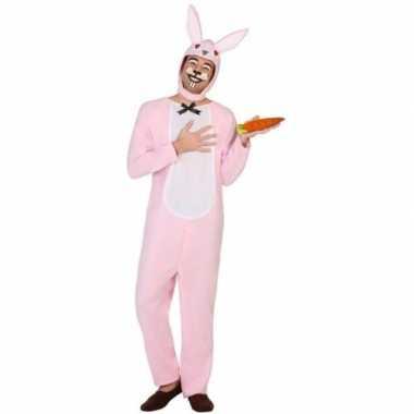 Goedkoop carnaval dieren carnavalskleding paashaas/konijn volwassenen