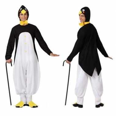 Goedkoop carnaval dieren carnavalskleding pinguin heren