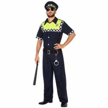 Goedkoop carnaval engelse politie carnavalskleding volwassenen