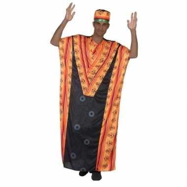 Goedkoop carnaval/feest afrikaanse kaftan/jurk verkleedcarnavalskledi