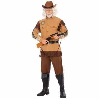 Goedkoop carnaval/feest amerikaanse ranger/sheriff/cowboy verkleedcar