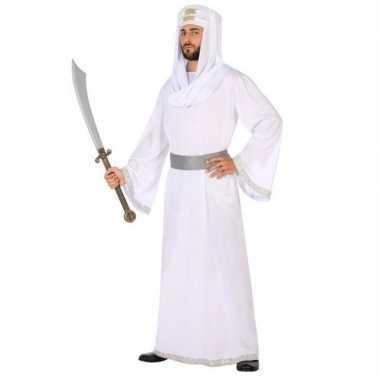 Goedkoop carnaval/feest arabische strijder/prins hassan verkleedcarna