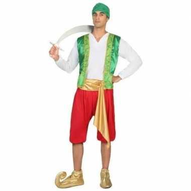 Goedkoop carnaval/feest arabische strijder/soldaat amir verkleedcarna