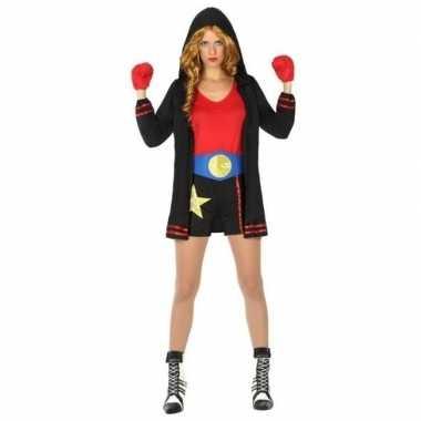 Goedkoop carnaval/feest bokser verkleed carnavalskleding dames