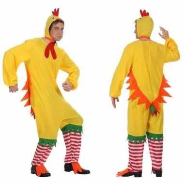 Goedkoop carnaval/feest haan/kip/kuiken verkleed carnavalskleding her