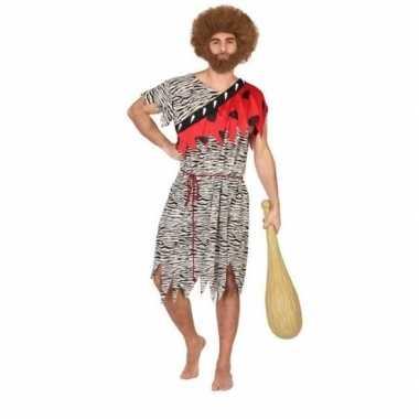 Goedkoop carnaval/feest holbewoner thag oertijd verkleedcarnavalskled