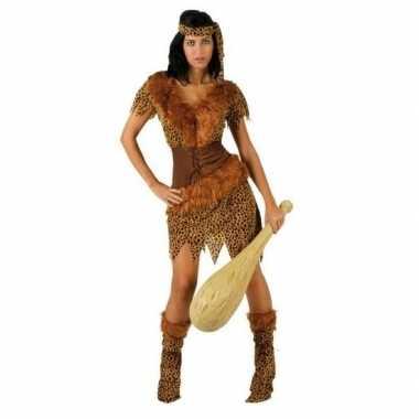 Goedkoop carnaval/feest holbewoonster ayla oertijd verkleedcarnavalsk