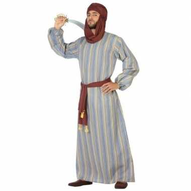Goedkoop carnaval/feest lange arabische verkleedcarnavalskleding ali