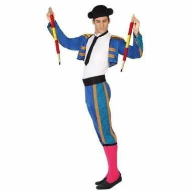 Goedkoop carnaval/feest matador/stierenvechter verkleedcarnavalskledi