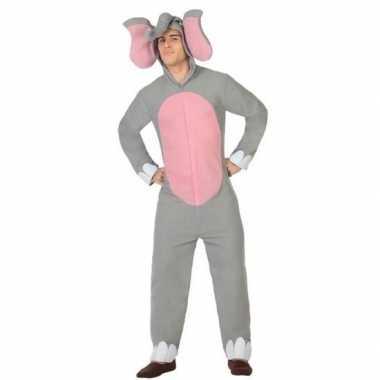 Goedkoop carnaval/feest olifant verkleed carnavalskleding volwassenen