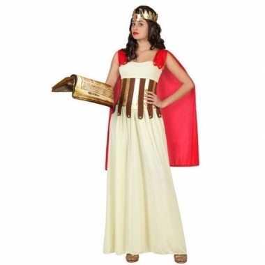 Goedkoop carnaval/feest romeinse/griekse vrouw aurelia verkleedcarnav