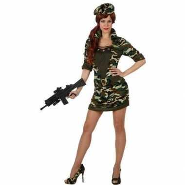 Goedkoop carnaval/feest soldaat/militair verkleed carnavalskleding da