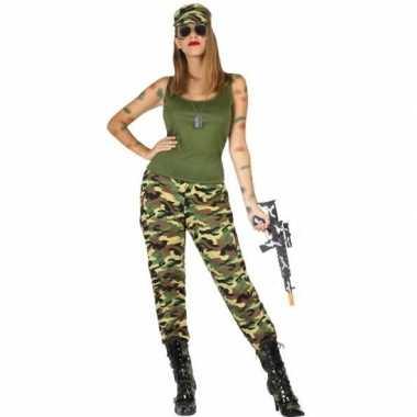 Goedkoop carnaval/feest soldaten/militairen verkleed carnavalskleding