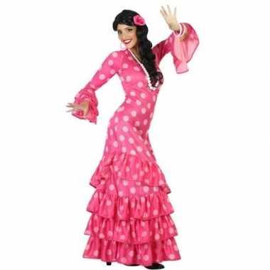 Goedkoop carnaval/feest spaanse flamenco danseressen verkleedcarnaval
