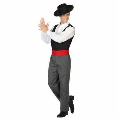 Goedkoop carnaval/feest spaanse flamenco dansers verkleedcarnavalskle