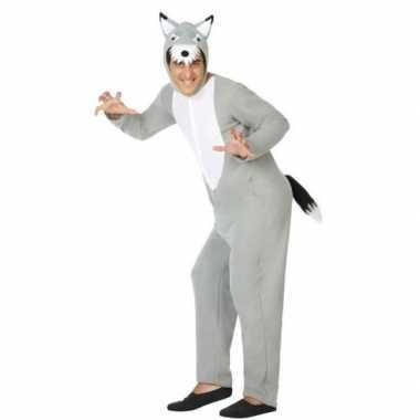 Goedkoop carnaval/feest wolven verkleedcarnavalskleding dames/heren