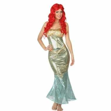 Goedkoop carnaval/feest zeemeerminnen verkleedcarnavalskleding dames