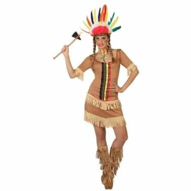 Goedkoop carnaval indiaan carnavalskleding manipi dames