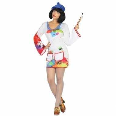 Goedkoop carnaval schilder carnavalskleding dames