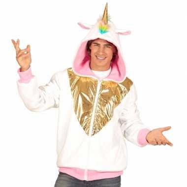 Goedkoop carnaval verkleed vest eenhoorn heren carnavalskleding