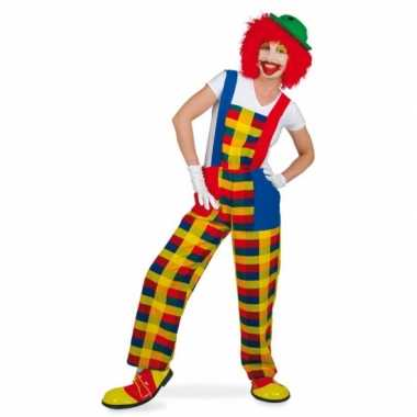 Goedkoop carnavalscarnavalskleding clown pebbi