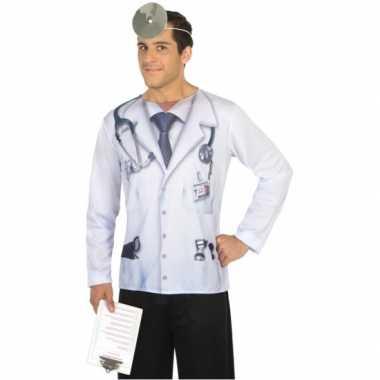 Goedkoop carnavalskleding dokter shirt