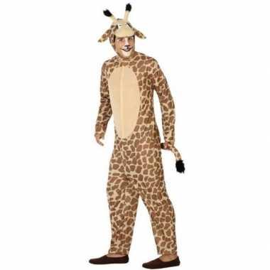 Goedkoop carnavalskleding giraf heren/dames
