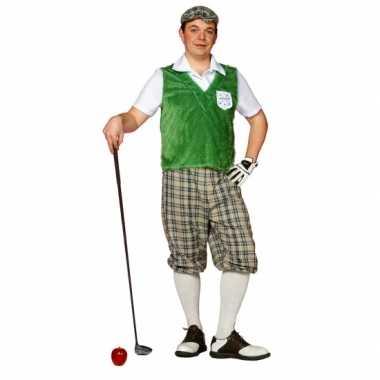 Goedkoop carnavalskleding golf speler