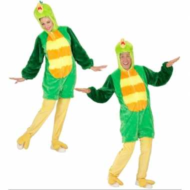 Goedkoop carnavalskleding groene vogel
