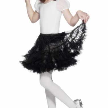 Goedkoop carnavalskleding/halloween zwarte heksen rokken/tutus verkle