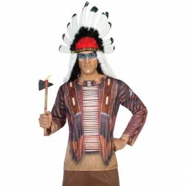Goedkoop carnavalskleding indiaan shirt