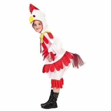 Goedkoop carnavalskleding kip/haan kinderen