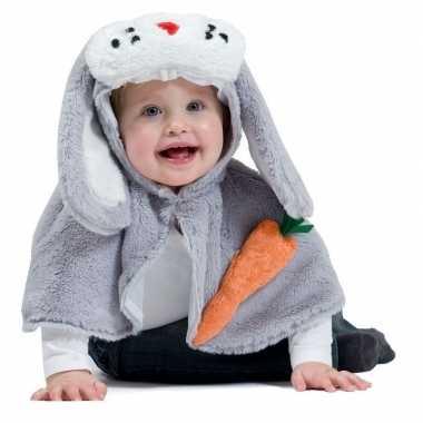 Goedkoop carnavalskleding konijntje babies/peuters