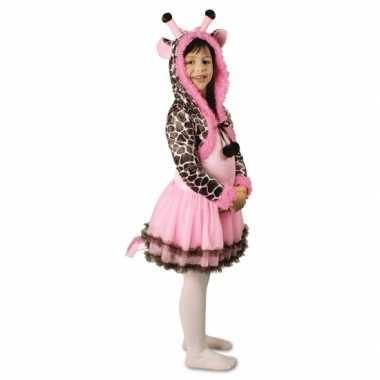 Goedkoop carnavalskleding meisjes giraffe carnavalskleding