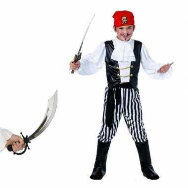 Goedkoop carnavalskleding piraat zwaard maat s jongens/meisjes