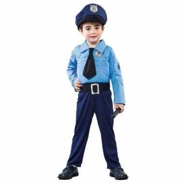 Goedkoop carnavalskleding politie agent jongens