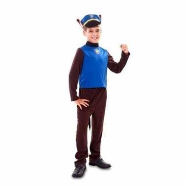 Goedkoop carnavalskleding politiehond jongens